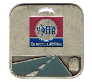 "Médaille ""route"" FFA, Distinctio"