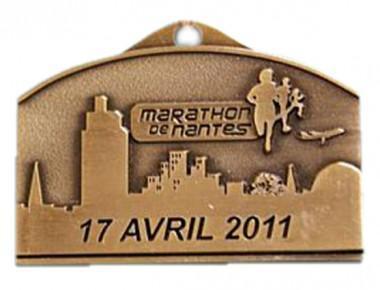 Médaille du Marathon de Nantes 2011 (Distinctio)