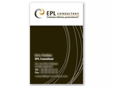 Carte de visite EPL Consultant, conseil en professions libérales (variante)