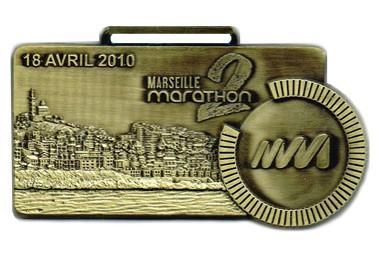 Médaille du Marathon de Marseille 2010 (Distinctio)
