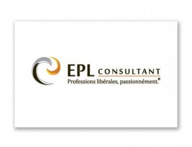 Carte de visite EPL Consultant, conseil aux professions libérales (recto)